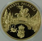 GOLD Poland 200 Zlotych 2008, 450 Years of the Polish Postal Service