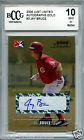 JAY BRUCE Reds 2006 Just Limited GOLD auto rookie #16 50 BGS BCCG 10 MINT !!
