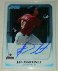 2011 Bowman Chrome Prospects Autograph #BCP92 J.D. JD Martinez RC Auto Rookie