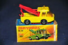 Matchbox No.74B Toe Joe yellow rare red booms AND hooks m/b NOT LISTED IN MACK