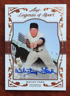 Whitey Ford 2011 Leaf Legends of Sport Certified Auto #25 31 New York Yankees