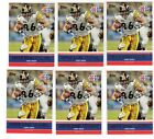 2011 topps super bowl legends 6 card lot hines ward