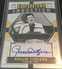 2015 Panini Cooperstown Gold Induction Rollie Fingers Autograph 4 5 Brewers
