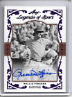 2011 Leaf Legends of Sports ROLLIE FINGERS PURPLE BORDER AUTO AUTOGRAPH #1 1!!