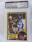 DAVE SILK SIGNED 1984 OPC O-PEE-CHEE ROOKIE CARD PSA ENCAPSULATED 83816012