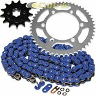 Blue O-Ring Drive Chain & Sprockets Kit for Yamaha TTR230 TT-R230 2005-2016