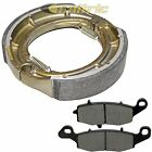 FRONT BRAKE PADS & REAR BRAKE SHOES Fits SUZUKI VL400Z Intruder 400 Classic 2005