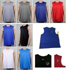 Mens Sport T Shirt Tank Muscle Tee Quick Dry Top Athletic Basketball Gym Running