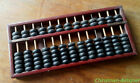 Chinese wood rectangle abacus SuanPans 13 Column 91 Count beads #1438