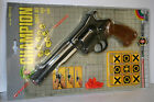 VINTAGE EDISON GIOCATTOLI TOY GUN 8mm CHAMPION TARGET SET N 462 MADE IN ITALY