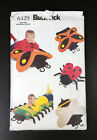 Bug Pillow Covers Kid's Room Decor Butterick Crafts Pattern 6429 Uncut