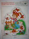 Vintage Cabbage Patch Doll on Skates Easy Cut Out Sewing Panel Pillow Puppy DIY