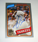 New York Yankees Bucky Dent 2015 Topps Archives Fan Favorite SILVER AUTO 105 199
