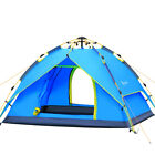 Waterproof 3 4 People Automatic Instant Pop Up Family Tent Camping Hiking Tent