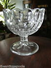 1870 Bakewell Pears & Co. EAPG Argus Thumbprint Pattern Glass Jelly Compote