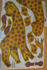 Vintage Cut and Sew George The Giraffe Panel Pillow Stuff Fabric