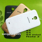 Samsung Galaxy S3 S4 i9505 Note 3 Grand 2 Faux Leather Battery Back Cover Door