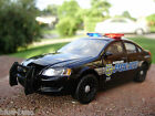Custom 1:32 w/ LED lights CHEVY IMPALA police car diecast CLEVELAND DEPARTMENT