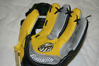 Franklin Baseball Glove Black Yellow Gray RTP 9N Read to Play 2000 Youth