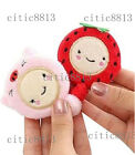 Cute Mini Retractable 6015M Sewing Tailor Plastic Flat Tape Measure Ruler Tool