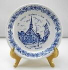 Wood & Sons Le Vieux Old Quebec Place Royale Small Blue & White Plate - 4-3/8