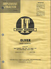 T OLIVER SHOP MANUAL SERIES 99GMTC, 950,990,995,770,880