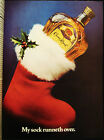CROWN ROYAL - SEAGRAM'S - CANADIAN WHISKY - VINTAGE 1981 PAGE AD - ADVERTISING