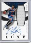 2014-15 Panini LUXE CARMELO ANTHONY AUTO JUMBO JERSEY #7 35 JERSEY NUMBER KNICKS