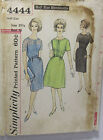 VINTAGE SIMPLICITY DRESS PATTERN 4444 TWO SKIRTS STYLE SIZE 24.5