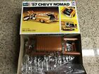 REVELL '57 CHEVY NOMAD 1957 PLASTIC MODEL CAR KIT SCALE 1/25 #H-1372 ISSUED 1973