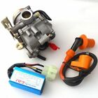 50CC SCOOTER MOPED GY6 19mm CARBURETOR CARB PERFORMANCE CDI COIL SUNL ROKETA JCL