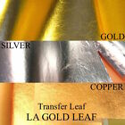 LA GOLD LEAF IMITATION GOLD SILVER GENUINE COPPER LEAF TRANSFER BULK SALE
