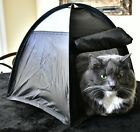 Cat or Dog Bed that pops up like a Tent My Cats go Psycho HELP SAVE ANIMALS