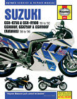 HAYNES Repair Manual - Suzuki GSX-R750 GSX-R1100 (1986-1992)