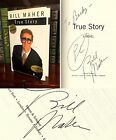 True Story HAND SIGNED by Bill Maher Real Time Politically Incorrect 1st 1st