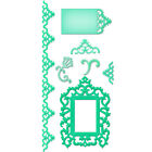 Spellbinders Shapeabilities Antique Frame and Accents 7 Dies