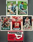 1989 Topps NFL Football Complete Traded Set with 132 Cards in Mint Condition ...
