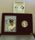 Nolan Ryan Commemorative Coin And Card Set ( 1 oz .999 )