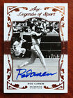 Rod Carew 2011 Leaf Legends of Sport Certified Auto #22 37 Minnesota Twins