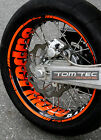 Wheel Sticker Supermoto KTM SMC 690 LC4 660 625 640 EXC SMR 450 560