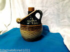 Jug with Clay Pipe  Ye Olden Time Pottery Jug with pipe (#4604)