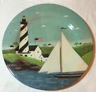 Evolution Sakura Warren Kimble Coastal Breeze Lighthouse Plastic Platter
