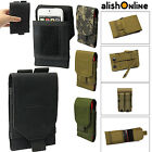 Universal Army Tactical Bag Mobile Phone Cover Case Belt Loop Hook Pouch Holster