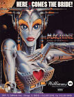 1991 MACHINE(the) THE BRIDE OF PINBOT  PINBALL FLYER :VERY GOOD Condition NOS