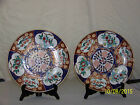 Pair-Japanese Vintage Hand Painted Imari Chargers