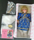 BLESSED ANGEL Singing Porcelain Doll by LINDA MASON Paradise Galleries COA