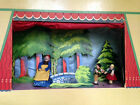 Boys/Girls Vintage 1949 BAPS PUPPET THEATER + PROPS + CURTAINS+9Fairy Tale DOLLS