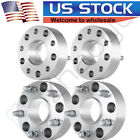 4Pcs 2 Hubcentric Wheel Spacers 5x55 Adapters 9 16 Studs For Dodge Ram 1500