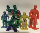 VTG 80S BIZARRE BOOTLEG LOT MARVEL SPIDERMAN HULK THE THING AVENGERS FANTASTIC4
