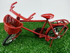 VINTAGE SMALL BICYCLE MODEL RARE METAL HANDMADE THAILAND HANDICRAFT ANTIQUE